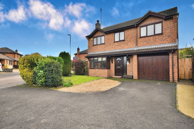 Thumbnail Detached house for sale in Yateley Drive, Barton Seagrave, Kettering