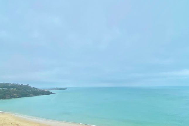 Thumbnail Flat for sale in Gwel Marten, Headland Road, Carbis Bay, St. Ives