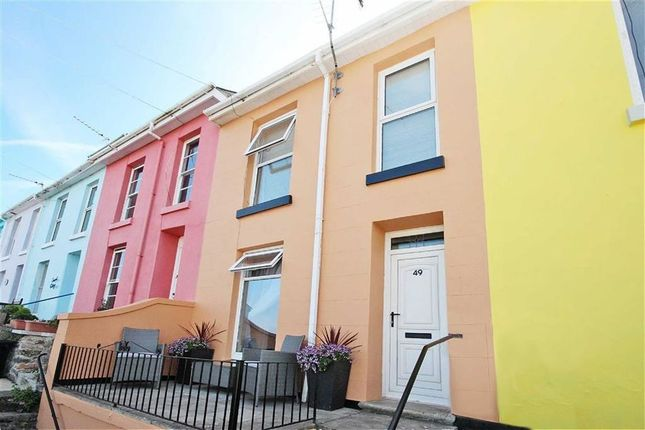 Thumbnail Terraced house for sale in North View Road, Harbour Area, Brixham