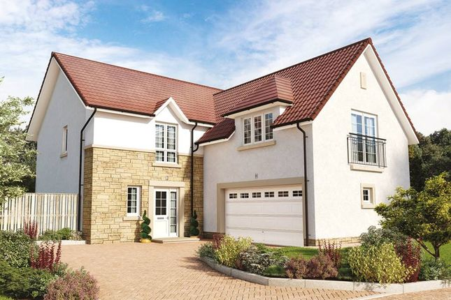 """Thumbnail Detached house for sale in """"The Dewar"""" at Hillview Gardens, Nivensknowe Park, Loanhead"""