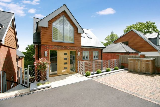 Thumbnail Detached house for sale in Bursledon Road, Hedge End, Hampshire