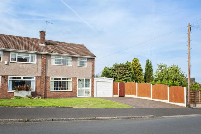 Thumbnail Semi-detached house for sale in 2 Lord Derby Road, Gee Cross