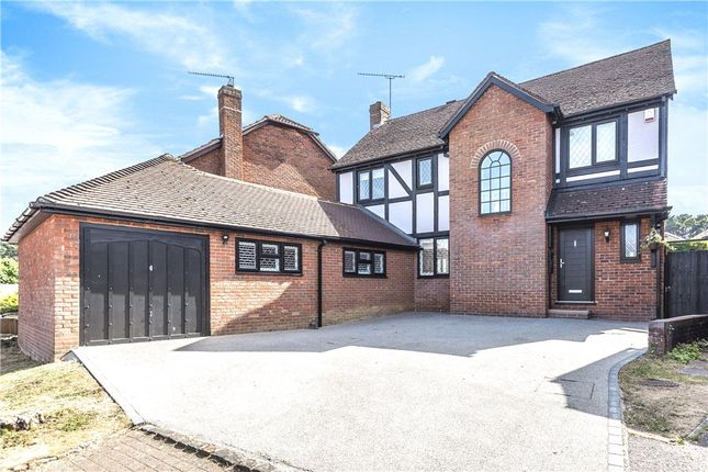 Thumbnail Detached house for sale in Princes Way, Bagshot, Surrey