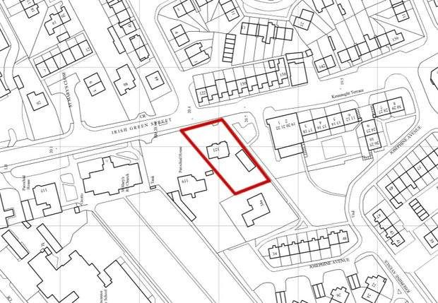 Thumbnail Land to let in Irish Green Street, Limavady, County Londonderry