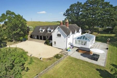 Thumbnail Detached house for sale in Morton Bagot, Studley, Warwickshire