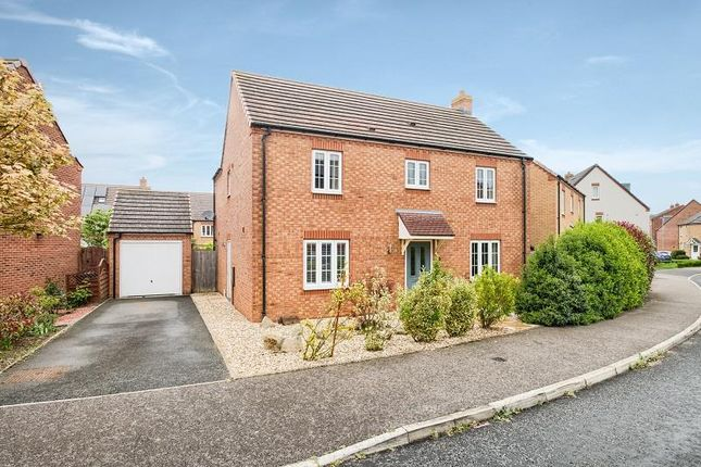 Thumbnail Detached house for sale in Wisteria Drive, Evesham