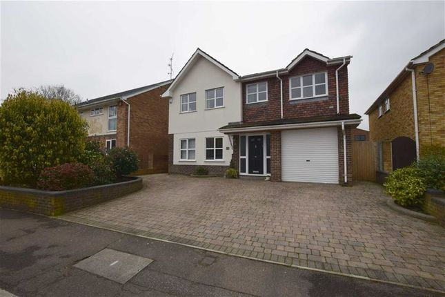 Thumbnail Detached house for sale in Mentmore, Langdon Hills, Basildon, Essex
