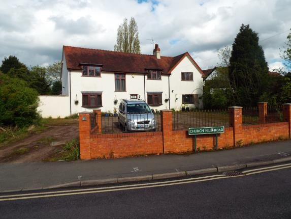 Thumbnail Detached house for sale in Church Hill Road, Solihull, West Midlands