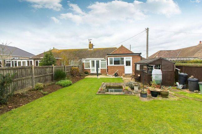Thumbnail Semi-detached bungalow for sale in Victoria Road, Capel-Le-Ferne, Folkestone
