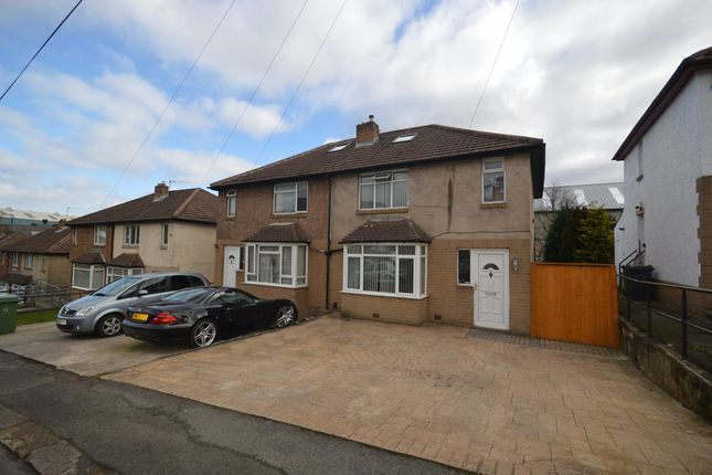 Semi-detached house for sale in Yew Green Avenue, Huddersfield, West Yorkshire