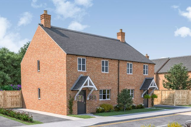 Thumbnail Semi-detached house for sale in Leicester Lane, Great Bowden, Market Harborough