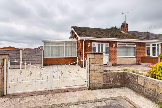 Thumbnail Semi-detached bungalow for sale in Braemar Avenue, Flixton, Trafford