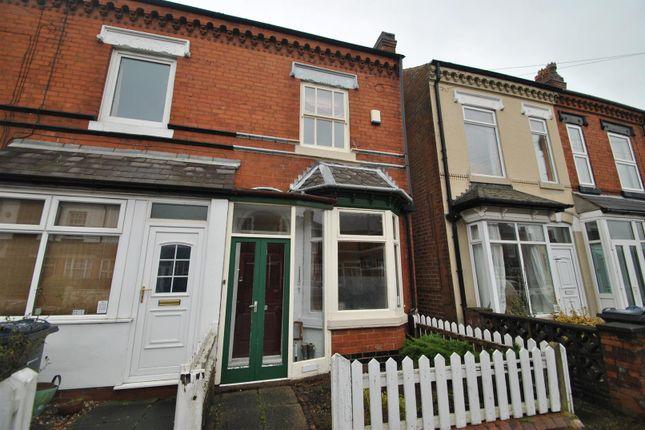 2 bed end terrace house for sale in Melton Road, Kings Heath, Birmingham