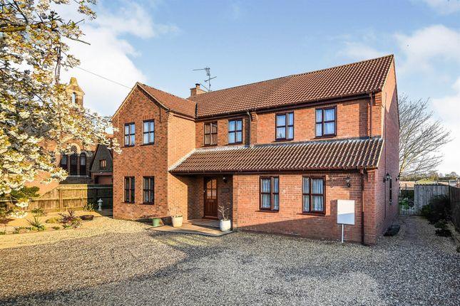 Thumbnail Detached house for sale in Sutton Road, Walpole Cross Keys, King's Lynn