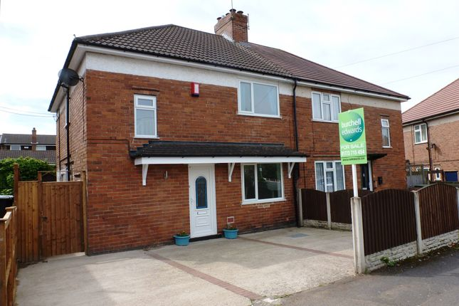 Thumbnail Semi-detached house for sale in Lindley Street, Newthorpe, Nottingham