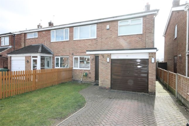 Thumbnail Semi-detached house for sale in Orchard Way, Balderton, Newark, Nottinghamshire.