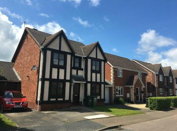 Thumbnail Detached house to rent in Bala Way, St Peters, Worcester