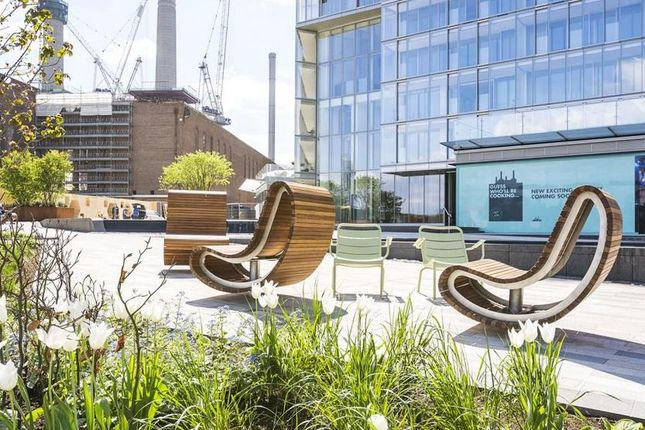 Thumbnail Flat for sale in Switch House West, Battersea Power Station, London