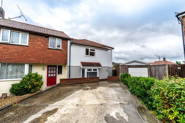 Thumbnail Semi-detached house to rent in Carton Close, Rochester, Kent