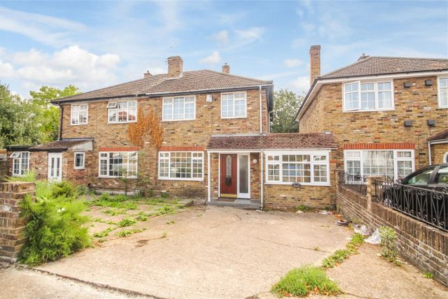 Thumbnail Semi-detached house for sale in The Greenway, Cowley, Uxbridge