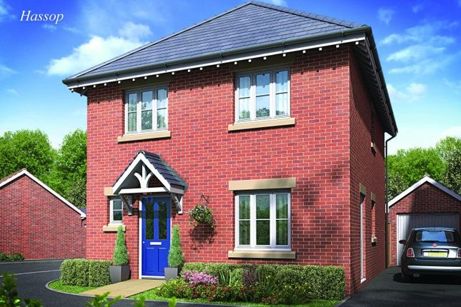 Thumbnail Semi-detached house for sale in The Hassop, Burton Road Tutbury, Staffordshire