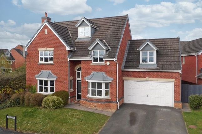 Thumbnail Detached house for sale in Talbot Way, Nantwich, Cheshire