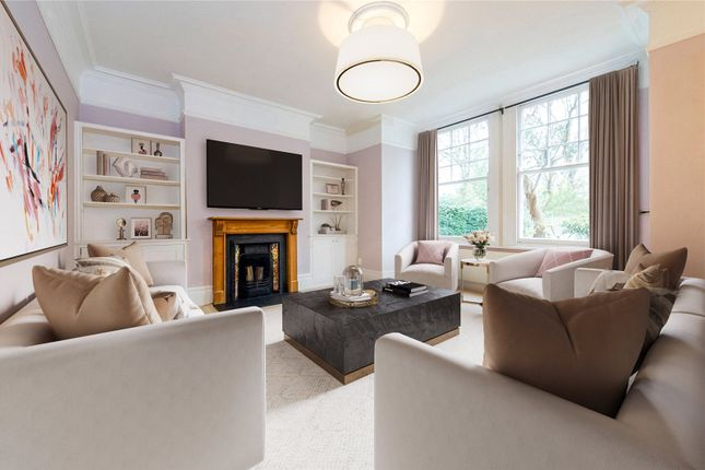 Thumbnail Flat to rent in Vicarage Gardens, London