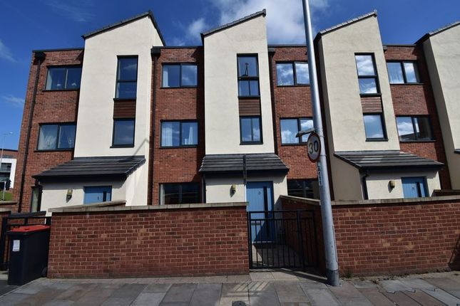 Thumbnail Terraced house to rent in 3 West Centre Way, Lawley, Telford