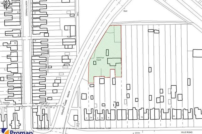 Thumbnail Land for sale in The Coal Yard, 2A Ville Road, Scunthorpe, North Lincolnshire
