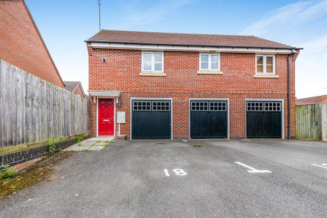 Thumbnail Flat to rent in Bancroft Way, Wootton, Northampton