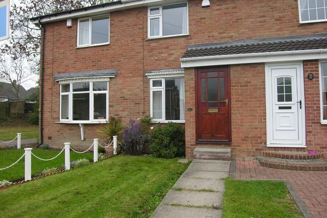 Thumbnail Town house to rent in Ashmore Drive, Gawthorpe, Ossett