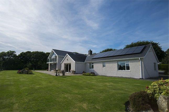 Thumbnail Detached house for sale in Swn Y Mor, Chwilog, Pwllheli, Gwynedd