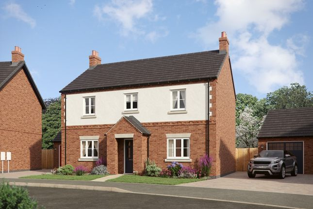 Thumbnail Detached house for sale in Off Clays Lane, Staffordshire, Burton Upon Trent