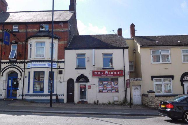 Thumbnail Restaurant/cafe to let in Waterloo Road, Cobridge, Stoke-On-Trent