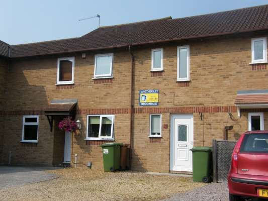1 bed terraced house to rent in Langdyke, Parnwell, Peterborough PE1