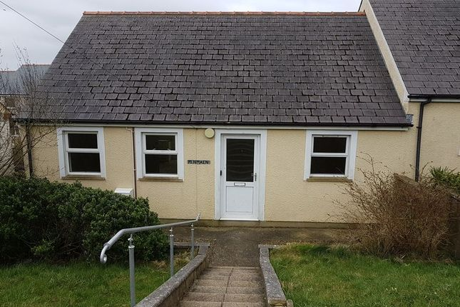 Thumbnail Semi-detached bungalow to rent in Precelly Crescent, Stop And Call, Goodwick