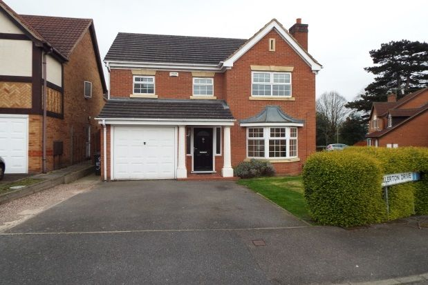 Thumbnail Detached house to rent in Allerton Drive, Leicester