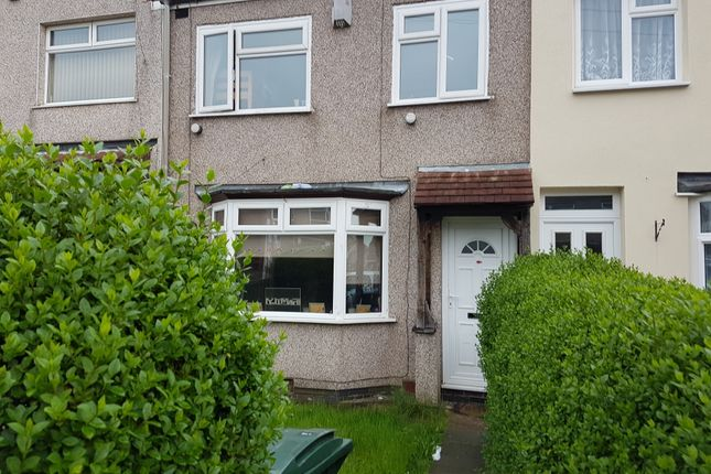 Thumbnail Terraced house for sale in Lauderdale Avenue, Coventry