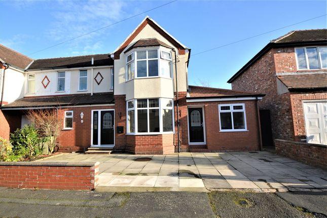 Thumbnail Semi-detached house to rent in Norcott Avenue, Stockton Heath, Warrington