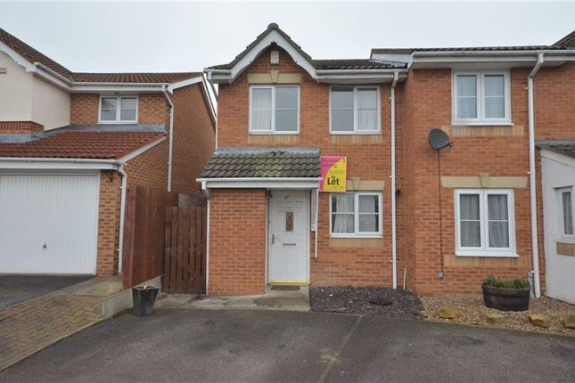 Thumbnail Semi-detached house to rent in Keystone Avenue, Castleford