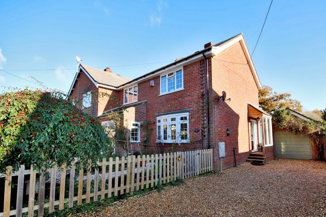 Semi-detached house for sale in Copse Road, Burley, Ringwood