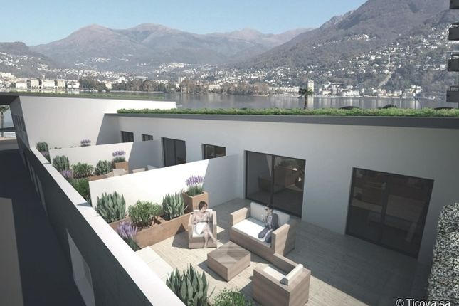 Thumbnail Apartment for sale in 6900, Paradiso, Switzerland