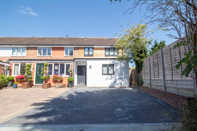 Thumbnail End terrace house for sale in Burghley Close, Stevenage