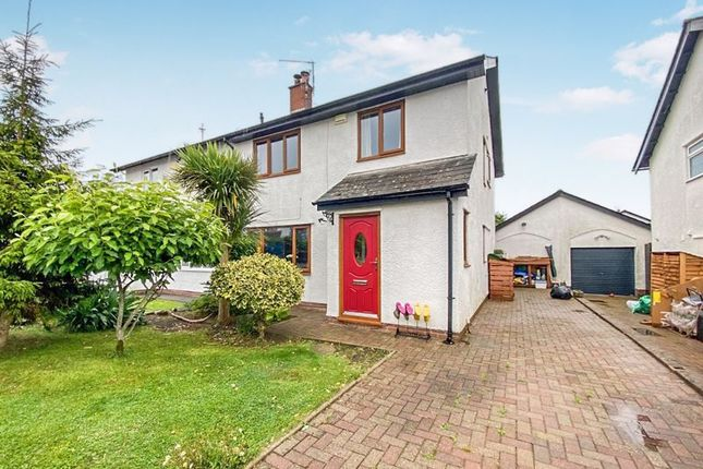 Thumbnail Semi-detached house for sale in Bull Cliff Walk, Barry