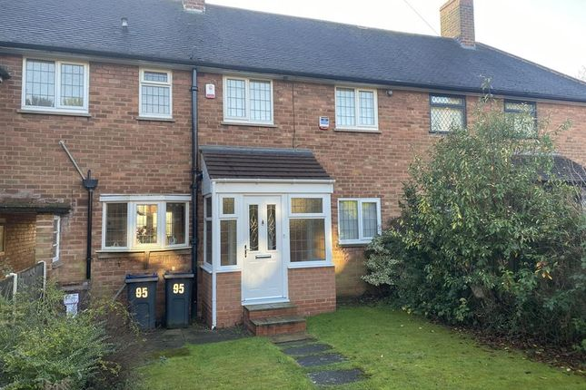 Thumbnail Terraced house for sale in Gibbons Road, Four Oaks, Sutton Coldfield