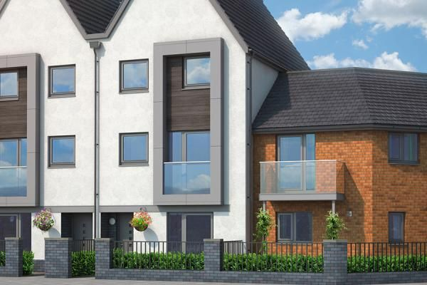 "Thumbnail Property for sale in ""The Rydal At Upton Place, Northampton"" at Saxon Lane, Upton, Northampton"