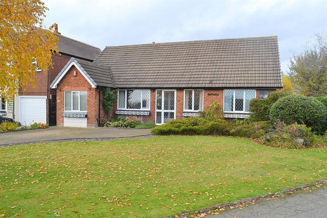 Thumbnail Detached bungalow for sale in Cricket Lane, Lichfield, Staffordshire