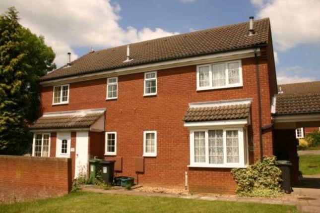 Thumbnail Town house to rent in Thistle Close, Hemel Hempstead