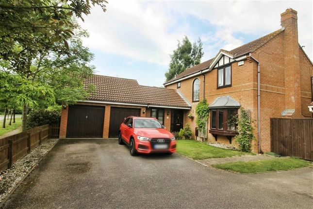 Thumbnail Detached house for sale in Novello Croft, Old Farm Park, Milton Keynes