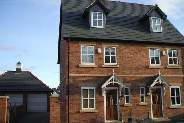 Thumbnail Semi-detached house to rent in Chapel Gardens, Penley, Wrexham